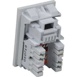 Excel Category 5e (UTP) Unscreened RJ45 Module - 6c Low Profile -