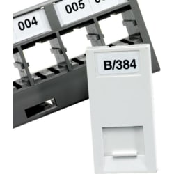 Excel Adhesive Outlet Label 8x16mm - 10/3850