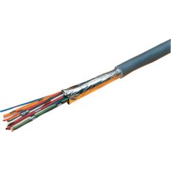 Excel Grey 6 Core Cable - 500 Metre Reel