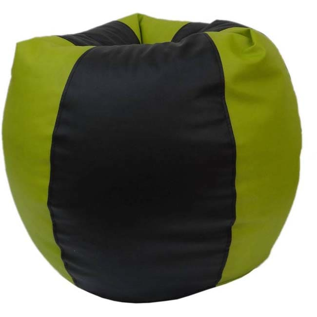 Fun ON XL Bean Bag Cover  (Green, Black)