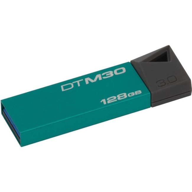 Kingston DTM30/128GB 128 GB Pen Drive  (Green)