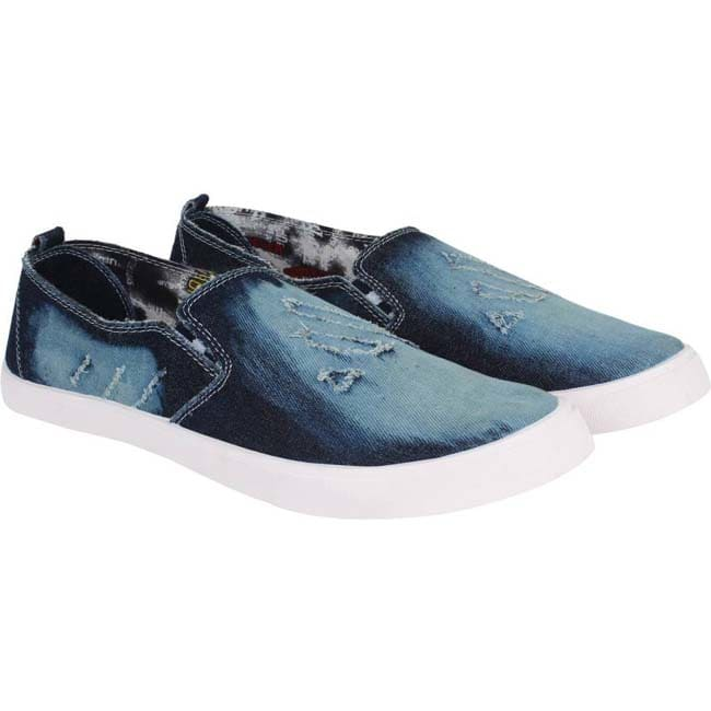 Super Matteress Blue-361 Loafers  (Blue)