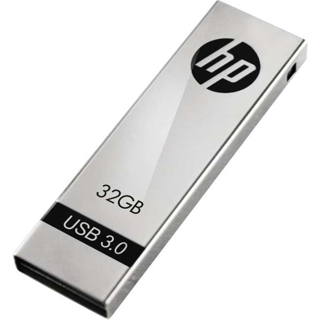 HP X710W 32 GB Pen Drive  (Silver)