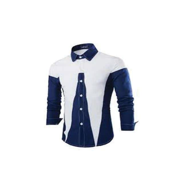 High Quality 2014 New Fashion Men Slim Shirts Man Casual Long Sleeve Cotton