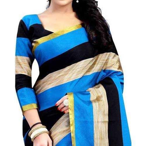 Women's saree Anugrah Floral Print Bollywood cotton, Silk, Crepe Saree